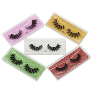 Wholesale 3d Mink False Eyelashes 10 20 30 50 100 Pairs Fluffy Wispy Fake Lashes Natural Long Makeup Lash Extension In Bulk