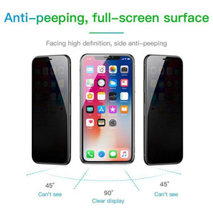 Privacy Protection Screen Protector For Iphone Xs Max Xr X S R Anti -Peeping Protective Tempered Glass Film For Iphonexs