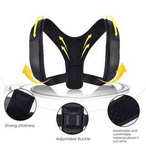 Ajustável Voltar Posture Corrector corpo Wellness Postura do corrector ajustáveis para todos os tamanhos corporais