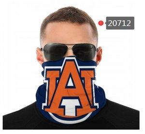 Maskeler Koruma Kaplanları Dikişsiz Bandana Gaiter Kalkanı Eşarp NCAA Yüz Auburn Boyun Bisiklet Motosiklet UV Sürme Koşu BAHT Bantlar Khkau