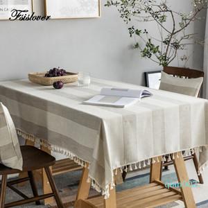 FSISLOVER Cuisine étanche Table Tissu Nappe rectangulaire Nappe Table à manger Couverture obrus Tafelkleed manteau mesa nappe