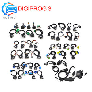 Digiprog 3 Full Set Cables Mileage Correction tool For DigiprogIII Odometer Programmer Digiprog3 Cable set tool