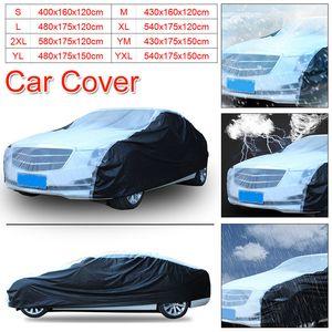 UV 프로텍터 투명을위한 Vehemo PEVA 보호 자동차 커버 자동차 커버 야외 통기성 눈 증명 방수