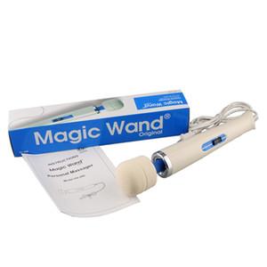 Kadın Yetişkin için Bayan Masaj Çubuk Güçlü Vibratör Sihirli Değnek Masaj Ürünleri Sihirli Wanc Çubuk Masaj