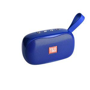 Telefonlar için TG173 BLUETOOTH HOPARLÖR Mini Taşınabilir Bluetooth Hoparlör Küçük Kablosuz Müzik Kolon Subwoofer USB Hoparlörler