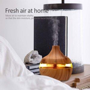 300ml Usb Elektrik Aromaterapi Hava Yayıcı, Odun Ultrasonik Hava Nemlendirici, Esansiyel Yağ, Sis Makinesi İçin Household Soğutma Aromaterapi