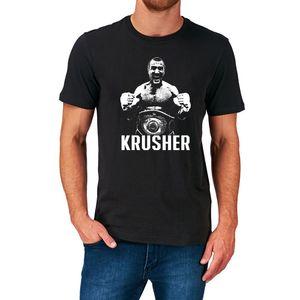 SERGUÉI KOVALEV T GUANTES CAMISA boxeador boxeo rusia ruso HEAVYWEIGHT KRUSHER