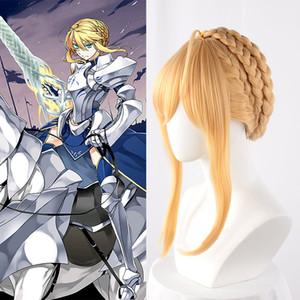 Cosplay Artoria destino Grande Ordine Lancer Artoria Pendragon parrucca Donne Fate Grande Ordine