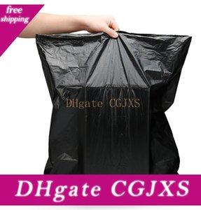 100pcs / Lot Одноразовый мешок для мусора Пакеты для мусора сгущаться черный мешок мусора 45 * 50см Eco содружественная Прочный Trash Bag Герметичные Мешки для мусора Bc BH3