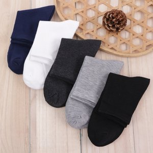 Frühling neue gemischte Geschenkbox Boutique Männer Normallack Socken Cotton Baumwolle Sport Deodorant Socken niedriger Preis
