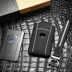 مفتاح السيارة للحصول على حقيبة LEXUS LX 570 2013-2020 LS 600hl الجلود مفتاح RC حالة البعيد مفاتيح شل الاكسسوارات غطاء السيارة