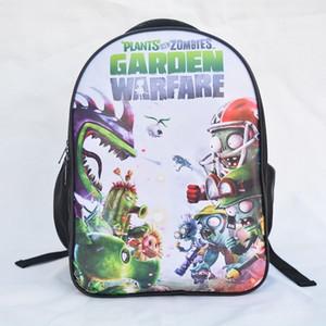 Impianto vs zaino borsa zaino per Zombie bambini della scuola primaria e secondaria zainetto cartone animato zainetto