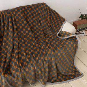 Lettres Couvertures Voyage Cozy voiture canapé-lit Blanket Literie classique Imprimer Sheets Taille 200 * 230cm délégué cadeau