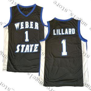 9.23 NCAA Weber State 1 Lillard Basketbol Jersey 23 James 3 Wade 30 Curry 11 Irving Üniversitesi 2 Leonard 22 McCall 11 Nash 7 Kukoc 34 Önyargı