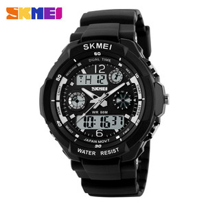 SKMEI Dual Display Children LED Digital Watch Chronograph Sport Watches Kids Waterproof Wristwatch For Boys Girls Relógio 1060