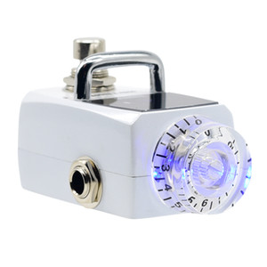 Freeshipping intelligente Tiny Tuner LED Tuneranzeige True Bypass Gitarre Pedal Tuner STU-1