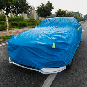 Las fundas para autos impermeable al aire libre de la cubierta de protección solar del reflector Polvo Lluvia Nieve protector para Mercedes-Benz Clase E W213 2016-2020