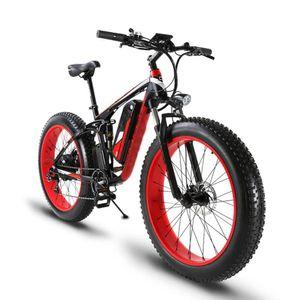 1500W بافانغ الإطارات الدهون 48V 13 / 17AH دراجات كهربائية 4 GenerationBattery الدراجة الجبلية الوعرة الكبار سرعة متغير دراجة