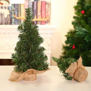 Artificial Tabletop Mini Christmas Tree Decorations Festival Miniature Tree 20cm 30cm wedding Christmas Decorations For Home new