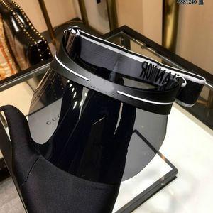 moda visiera Il nuovo ombra superiore vuoto cappello da sole a strisce a lensin da donna visiera di alta qualità polarizzata