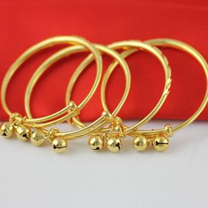 Dulce joyas de los niños Baby Bells pulseras brazaletes de oro plateado pulsera de los brazaletes para bebés niños hijos de Accesorios de Moda