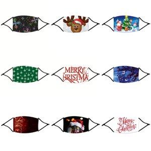 FiveKid Stil Noel Maske% 99.9 Antil Kumaşlar 50 Kez Yıkanabilir Tekrarlanan Yıkama Gümüş İyon Yeniden kullanılabilir Pamuk ChirdrenFace Noel Mas # 160