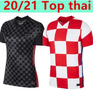 Euro 2020 Camisa de futebol 20/21 Home 10 Modric 7 Rakitic # 4 Futebol Erisic Camisa Mandzukic Orsic Futebol Uniforme