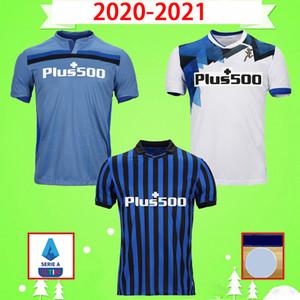 2020 2021 de futebol Atalanta jerseys BC 20 21 L.MURIEL Gosens DE SALA camisas de futebol Iličić COMEZ Pašalić Hateboer mens uniformes BARROW ARANA