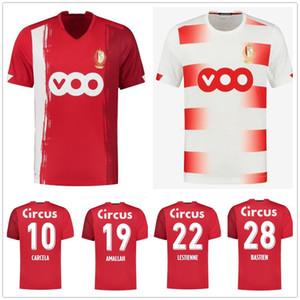 Standard Liège 20 21 Jerseys de football Accueil Liege Vanheusden Laifis Bastien Amlalah Cimirot 2020 2021 Standard Liège Football Jersey Shirt