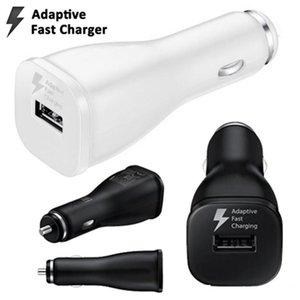 CGJXSCAR-Ladegerät Fast Adaptive Single USB-Autoladegerät Dock Adapter 5V 2A 9V 1 .67a Universal-Autoladegerät für Samsung S6 S7 S8 Anmerkung 4 Tablet