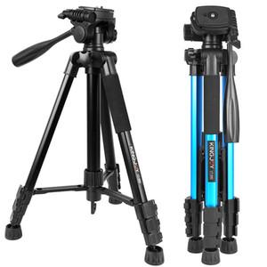 KINGJOY VT-880 3 couleurs trépied pour appareil photo Support vidéo Profesional pour tous les modèles reflex numérique DSLR Porte-Stativ mobile flexible