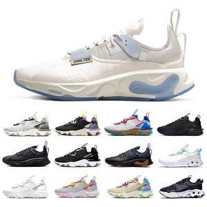 Nike React Vision Black Iridescent React Vision mens running shoes Gravity Purple Honeycomb Photon Dust Saffron Desert men women sports designer sneakers