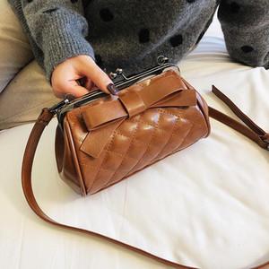 Diseñador-Shell bolsas de mano hombro de las señoras bolsos de cuero de la correa de hombro mensajero bolsas de alta calidad hongri Wanggong / 12