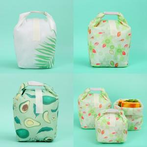 식품 오일 방지 피크닉 가방 접이식 재사용 석유 - 증거 점심 파우치 피크닉 가방 테이크 아웃 오일 방지 식품 포장 가방