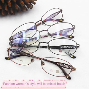 New Myopia business women's glasses metal fashion titanium full craft half alloy frame women's myopia glasses frame aAllP