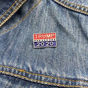 ترامب بروش دونالد ترامب وبالنسبة للرئيس الجمهوري ثقب الأزياء دبوس شارة صديق هدية TRUMP رمز شارة DHE1187