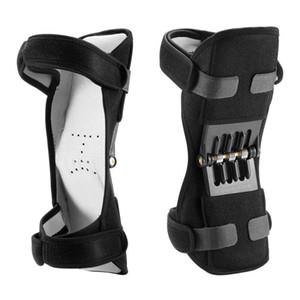 Supporto Knee Pad tamponi stabilizzatori ginocchio potenza confortevole e traspirante antiscivolo Forza Stabilizzatore potente Rebound Forza