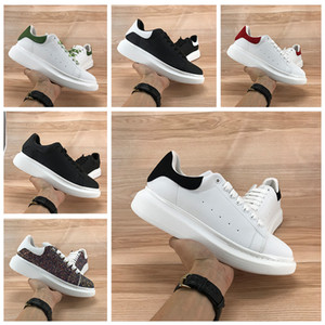 2020 Platform Shoes Men Women black velvet tail white reflect Casual shoes laser burgundy tail dust pink Sneakers royal snakeskin Trainers