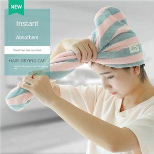 Super Absorbent Hair-Drying Cap Women's Quick Dry Hair Drying Towel Headcloth Shower Cap Shampoo Towel