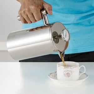 350/800 / 1000ML кофейники French Press чайник двойными стенками из нержавеющей стали Кофейник Чайник Горшок с ситечко фильтра GGA3697-1