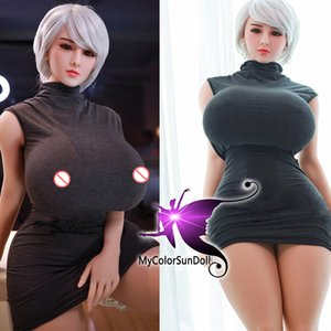 New 159cm fat body Super big boobs big buttlocks ass silicone sex doll for man adult sex toys 3 openings