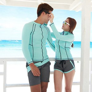 Four Pieces Full Body Long Sleeve Swimwear Sun UV Rash Guard Sun Protection Swimsuit Beachwear Sunsuit Rashguards Beachwear