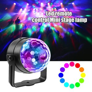18w LED RGB Magic Ball Light дистанционного управления Stage Effect Декоративное освещение Лампа для DJ Disco Bar отдыха партии