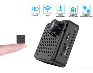 W18 Wifi Mini Camera Smart 1080P IP Night Vision Camera Wireless Remote Built-in Battery Camera Baby Monitor Detect CCTV Mini Wifi Cam