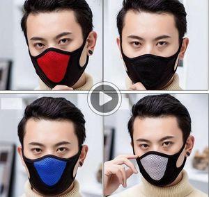 Fa Mask Häfen Radfahren Außen Mout Masken Warmhaltestaubdichtes den Masken 4 FARBEN Kevin