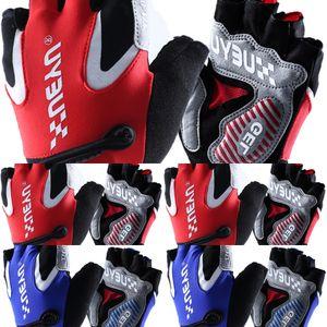 manica protezione delle dita degli uomini di estate e donne short biciclette a cavallo all'aperto in bicicletta guanti mezzi guanti sportivi