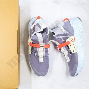 2020 alto Spazio Hippie 01 con il sacchetto Uomini Donne Scarpe Spazio cascami di filatura Mens Trainer Moda Sport Sneakers CQ3989 001 Size 36-45 Esecuzione
