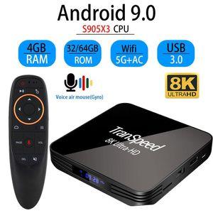 5g Android 9.0 Tv 32gb Ultra-hd X3 Pro S905x3 Amlogic Xdr Top Set Wifi Youtube 8k Box 4k Transpeed 1000m 64gb 4gb qylcl