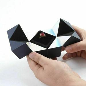 결혼 매직 큐브 링 상자 결혼 반지 상자 발렌타인 데이 선물 창조적 인 보석 저장 보석 organizer9을 제안