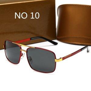 Gafas de sol de lujo de alta calidad UV400 Deportes Sunglasse para hombres y mujeres Vidrios de sombrilla de verano Bicicleta al aire libre Copa de sol 16 colores